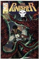 WRIGHTSON, BERNI & JOE JUSKO - Punisher #4 painted cover / logo on overlay  Comic Art